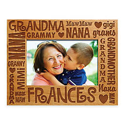 Words for Grandma 4-Inch x 6-Inch Picture Frame