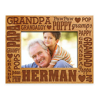 Words for Grandpa 4-Inch x 6-Inch Picture Frame