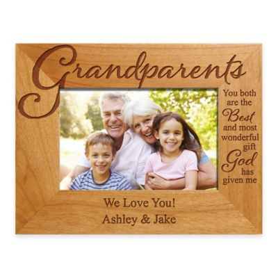 Grandparents The Best Gift 4 Inch X 6 Inch Picture Frame Bed