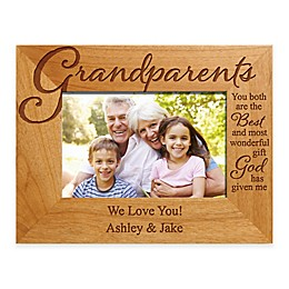 """Grandparents """"The Best Gift"""" 4-Inch x 6-Inch Picture Frame"""
