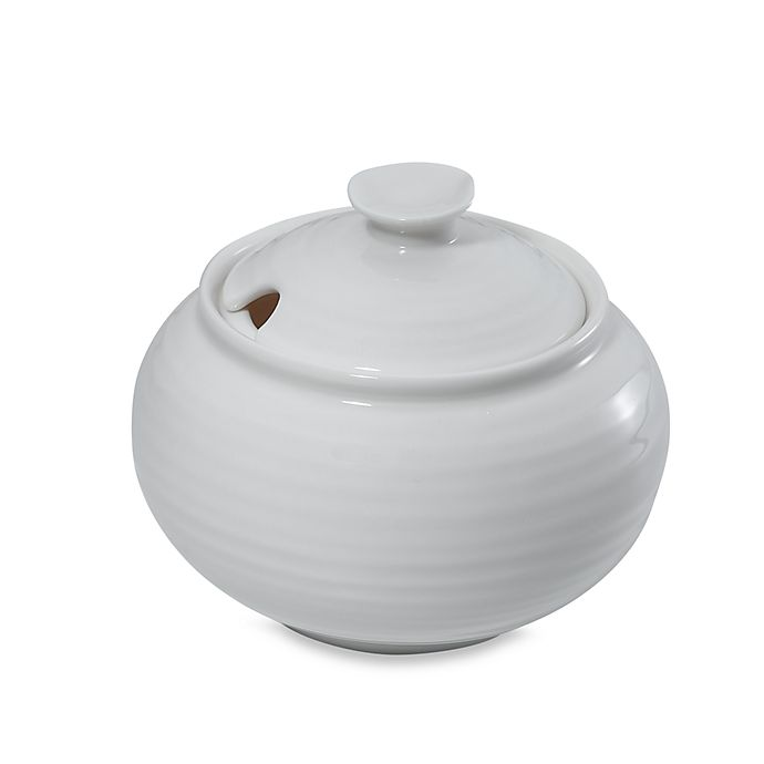 Alternate image 1 for Sophie Conran for Portmeirion® Covered Sugar Bowl in White