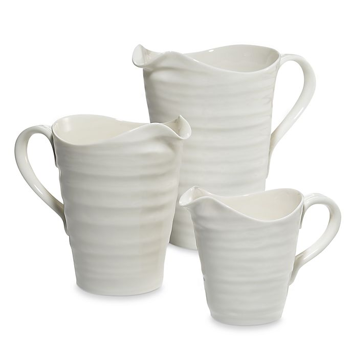Alternate image 1 for Sophie Conran for Portmeirion® White Pitchers
