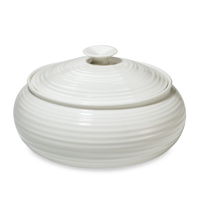 Alternate image 1 for Sophie Conran for Portmeirion® Wide Casserole in White