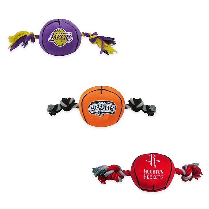 Alternate image 1 for NBA Basketball Pet Toy Collection