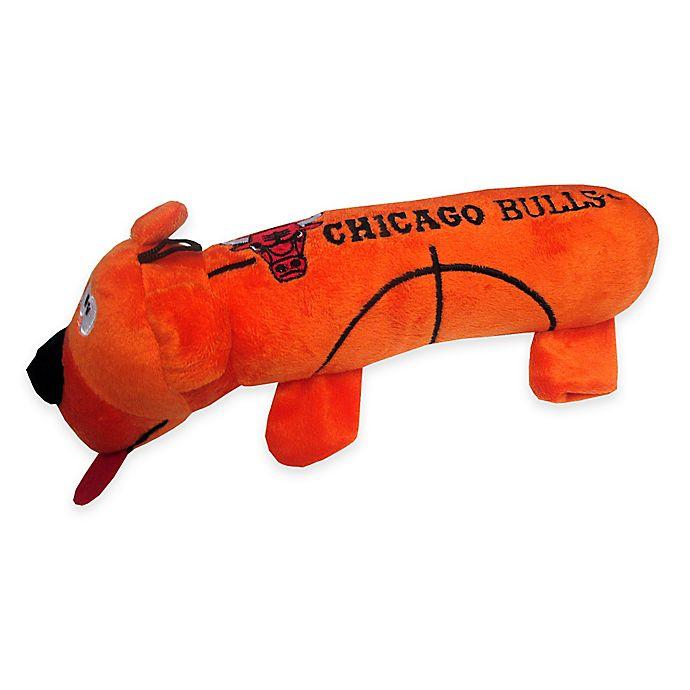 Alternate image 1 for Official NBA Chicago Bulls Basketball Dog Pet Toy