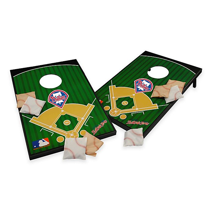 Alternate image 1 for MLB Philadelphia Phillies Tailgate Toss Cornhole Set