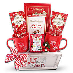 Letters to Santa/Red Truck Crates Basket Assortment