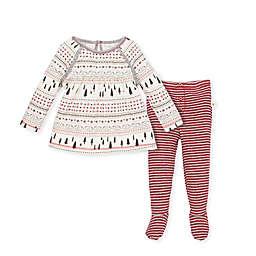 Burt's Bees Baby® 2-Piece Fair Isle Organic Cotton Tunic and Pant Set