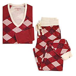 Burt's Bees Baby® Women's 2-Piece Abstract Argyle Organic Cotton Pajama Set