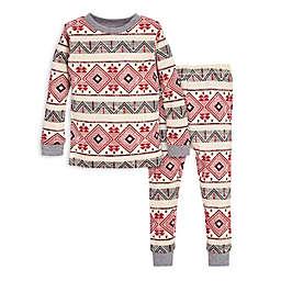 Burt's Bees Baby® 2-Piece Aspen Cabin Organic Cotton Toddler Pajama Set