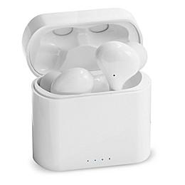 Sharper Image® Earbuds Headphones in White