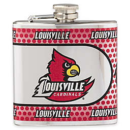 University of Louisville Stainless Steel Hip Flask