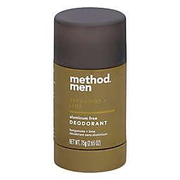Method® Men 2.65 Oz. Aluminum Free Deodorant in Bergamot + Lime