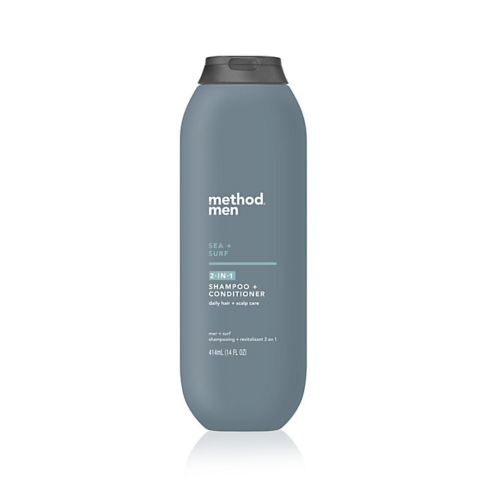 Alternate image 1 for Method® Men 14 oz.  2-in-1 Shampoo and Conditioner in Sea + Surf