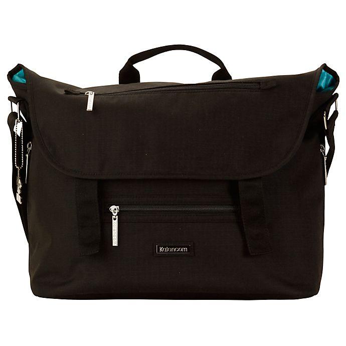 Alternate image 1 for Kalencom® London Diaper Bag in Black