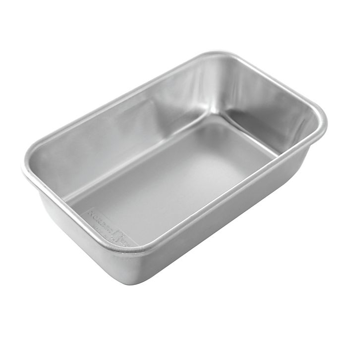 Alternate image 1 for Nordic Ware® 5-Inch x 9-Inch Aluminum Loaf Pan