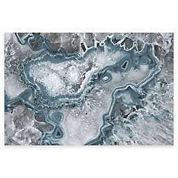 Marmont Hill Icy Layers Canvas Wall Art