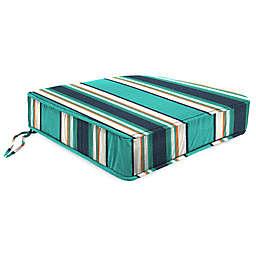 18-Inch x 20.5-Inch Trapezoid Chair Cushion in Sunbrella® Token Surfside