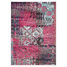 Safavieh Monaco Lena 6-Foot 7-Inch x 9-Foot 2-Inch Area Rug in Pink Multi