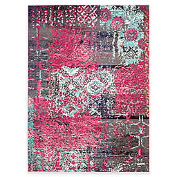 Safavieh Monaco Lena 9-Foot x 12-Foot Area Rug in Pink Multi