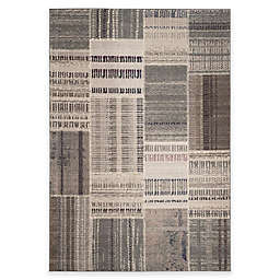 Safavieh Monaco Patchwork 6-Foot 7-Inch x 9-Foot 2-Inch Area Rug in Grey Multi