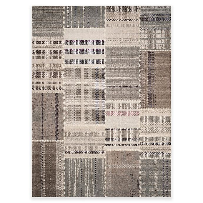 Alternate image 1 for Safavieh Monaco Patchwork 8-Foot x 11-Foot Area Rug in Grey Multi