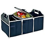 Picnic at Ascot Trunk Organizer and Cooler 2-Piece Set in Navy
