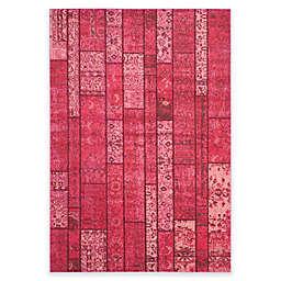 Safavieh Monaco Planks 5-Foot 1-Inch x 7-Foot 7-Inch Area Rug in Pink Multi