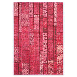 Safavieh Monaco Planks 6-Foot 7-Inch x 9-Foot 2-Inch Area Rug in Pink Multi