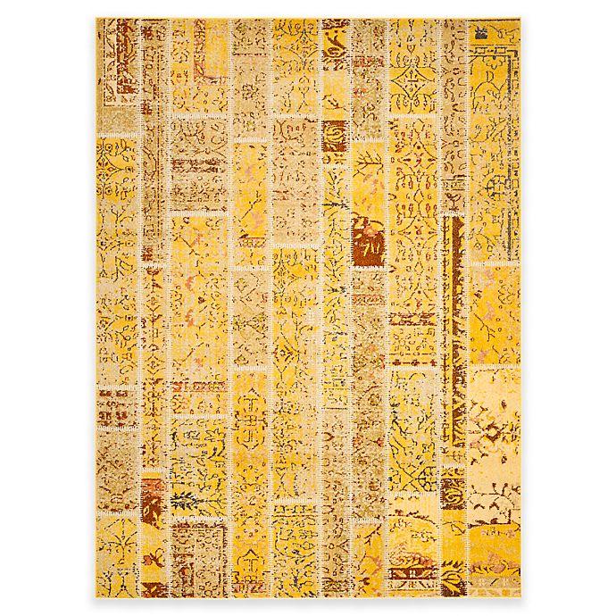 Alternate image 1 for Safavieh Monaco Planks 9-Foot x 12-Foot Area Rug in Yellow Multi