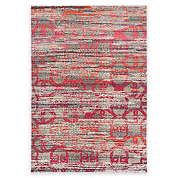 Safavieh Monaco Maya 6-Foot 7-Inch x 9-Foot 2-Inch Area Rug in Grey Multi