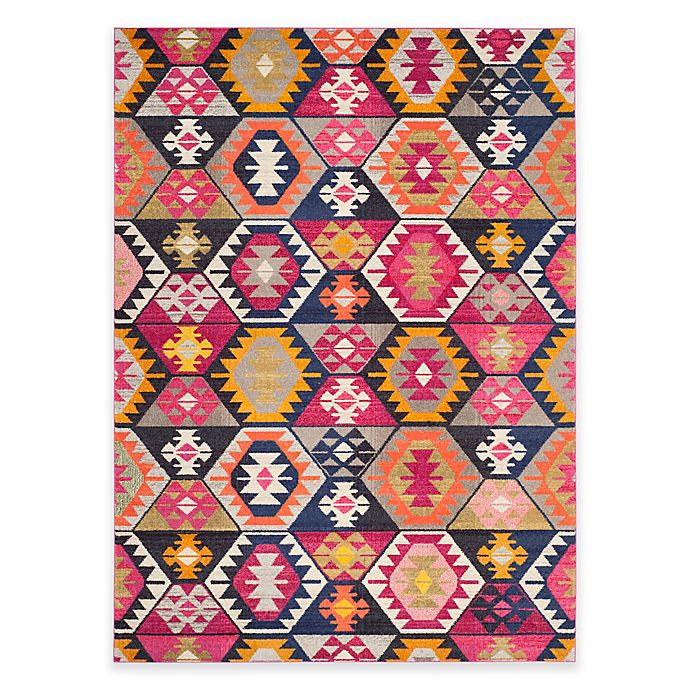 Alternate image 1 for Safavieh Monaco Davi 9-Foot x 12-Foot Multicolor Area Rug
