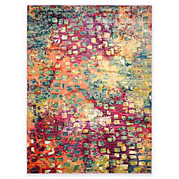 Safavieh Monaco Watercolor 8-Foot x 11-Foot Area Rug in Pink Multi
