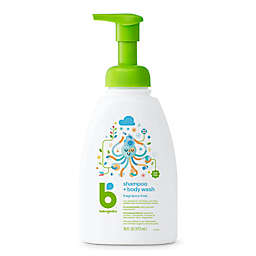 Babyganics® 16 oz. Foaming Shampoo + Body Wash in Fragrance-Free
