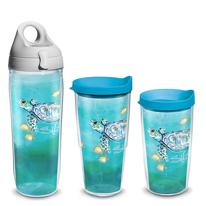 Alternate image 1 for Tervis® Salt Life® Turtle Wrap Tumbler with Lid