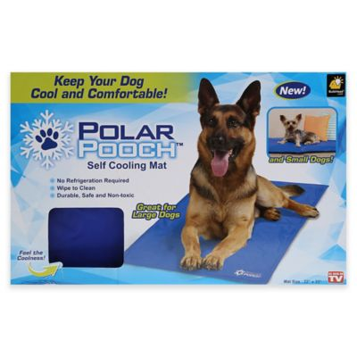 Polar Pooch Self Cooling Mat For Dogs In Blue