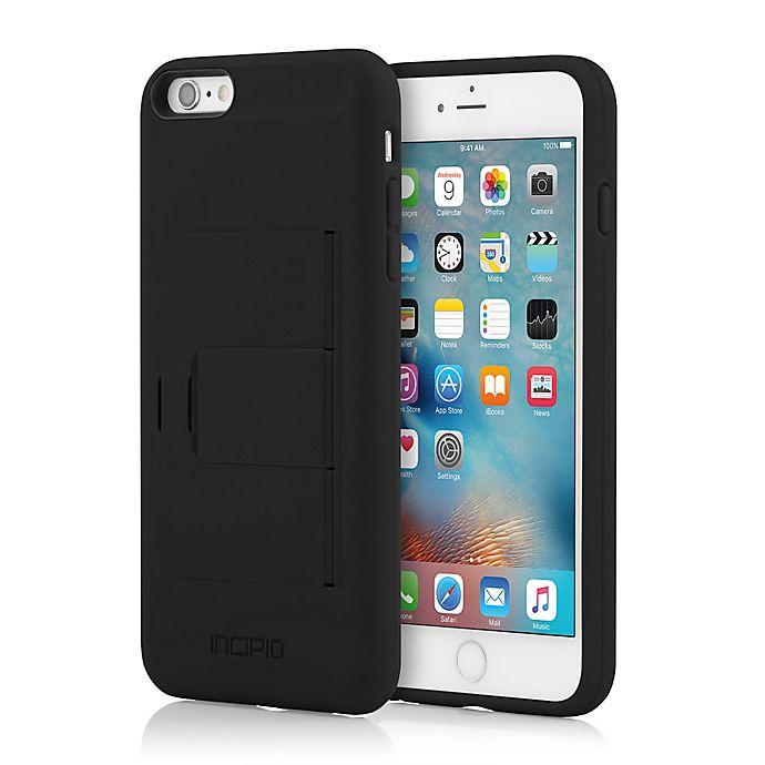 Alternate image 1 for Incipio® STOWAWAY™ Case for iPhone 6 Plus in Black