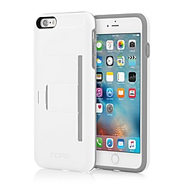 Incipio® STOWAWAY™ Advance Case for iPhone® 6 Plus in White/Grey