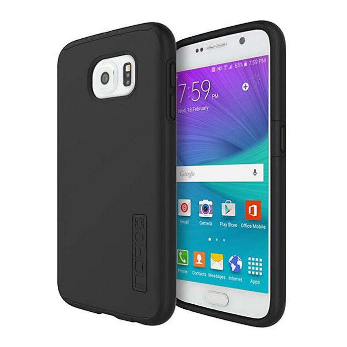 Alternate image 1 for Incipio® DualPro® Samsung Galaxy® S6 Case in Black