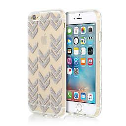 Incipio® Chevron-Patterned ISLA Design Series iPhone 6S Case in Multi-Glitter