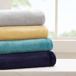 Intelligent Design Microlight Plush Throw Blanket