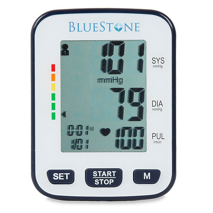 Alternate image 1 for Bluestone Automatic Wrist Blood Pressure Monitor with Two Memory Groups