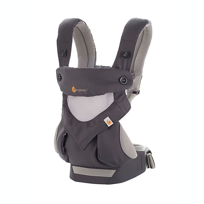Alternate image 1 for Ergobaby™ 360 Cool Air Mesh Multi-Position Baby Carrier