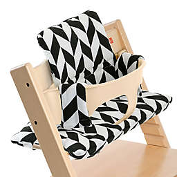 Stokke® Tripp Trapp® Cushion in Black Chevron