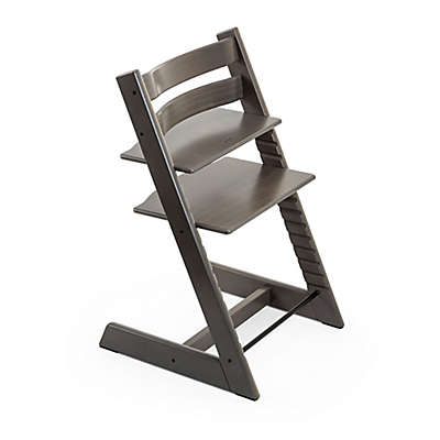 Stokke® Tripp Trapp® Hazy Grey High Chair and Accessories