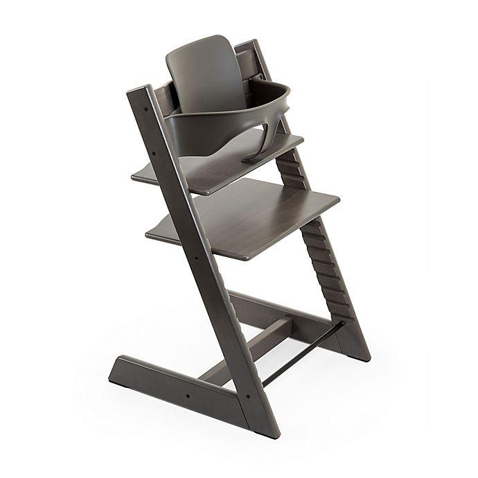 Alternate image 1 for Stokke® Tripp Trapp® Baby Set™ in Hazy Grey