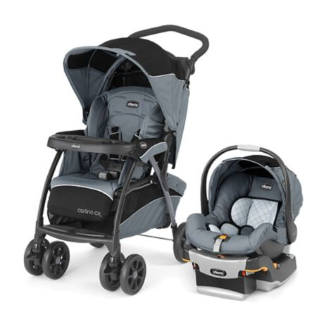 Chicco Cortina Cx Keyfit 30 Travel System In Iron