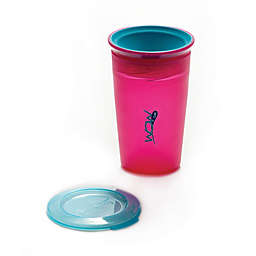Wow Baby Juicy! Spill-Proof Kid's Cup in Pink/ Teal