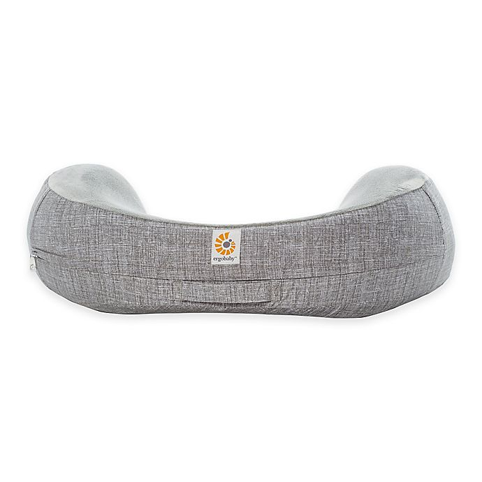 Alternate image 1 for Ergobaby™ Natural Curve Nursing Pillow Cover in Heathered Grey