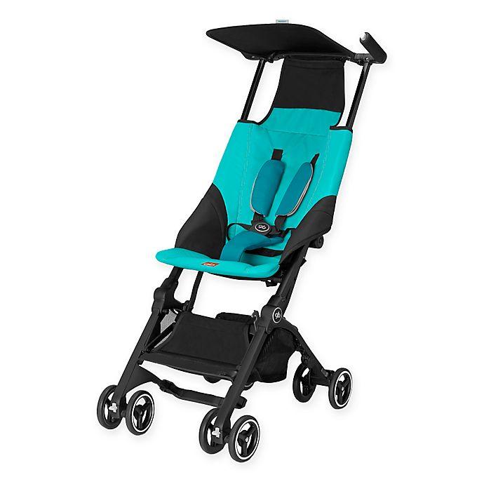 Alternate image 1 for GB Pockit Stroller in Capri Blue